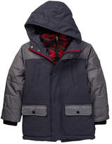 Hawke & Co Reggie Hooded Tonal Vestee Parka (Little Boys)