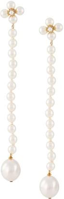 Loewe Pearl Pendant Earrings