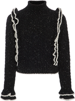 Philosophy di Lorenzo Serafini Speckled Cable Knit Sweater