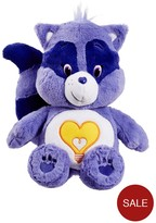 Care Bears Medium Plush With DVD Bright Heart Raccoon
