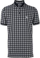 Dolce & Gabbana pistol print polo shirt