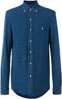 Polo Ralph Lauren embroidered logo shirt - men - Cotton - S