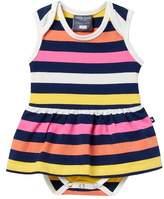 Toobydoo Santa Monica Skirted Bodysuit (Baby Girls)