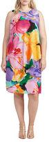 Lauren Ralph Lauren Plus Floral-Print Crepe Dress