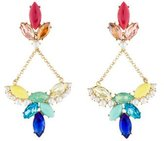 Lulu Frost Crystal & Faux Pearl Drop Earrings