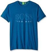 HUGO BOSS BOSS Green Men's Tee6 Curved Logo T-Shirt