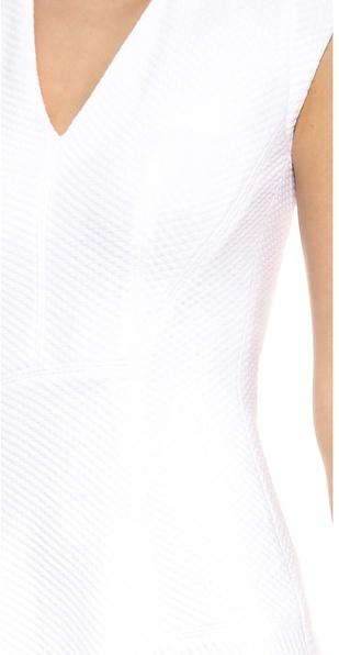 Rebecca Taylor Short Sleeve Texture Dress
