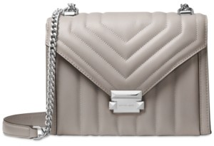 Michael Kors Michael Whitney Quilted Leather Shoulder Bag