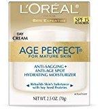 L'Oreal Age Perfect Day Cream SPF 15 2.5 Oz - 2 Pack