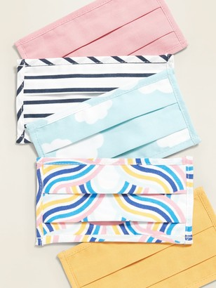 Old Navy Variety 5-Pack of Triple-Layer Cloth Face Masks for Kids
