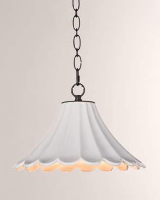REGINA ANDREW Cally Ceramic Small Lighting Pendant