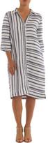 Ping Pong Stripe Shirt Dress