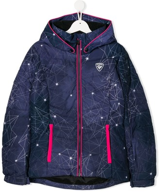 Rossignol Kids trimmed logo padded jacket