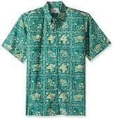 Reyn Spooner Men's Spooner Kloth Classic Fit Button Front Hawaiian Shirt Heritage
