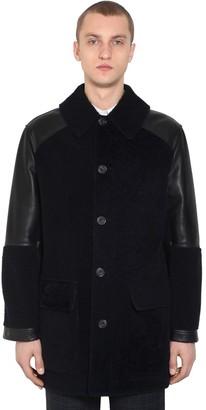 Alexander McQueen Leather & Shearling Jacket