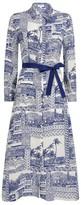 Claudie Pierlot Toile De Jouy Shirt Dress