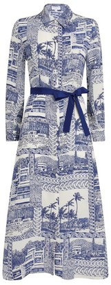 Claudie Pierlot Toile De Jouy Shirt Dress