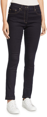 Escada Five-Pocket Narrow-Leg Jeans