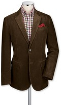 Charles Tyrwhitt Olive cord unstructured classic fit sport coat