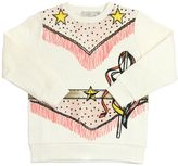 Stella McCartney Cowboy Printed Organic Cotton Sweatshirt