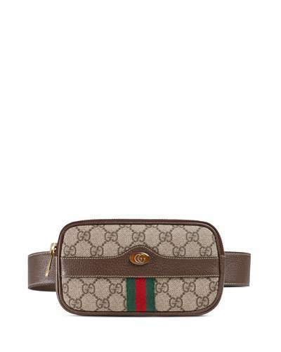 Gucci Ophidia GG Supreme Canvas Belt Bag