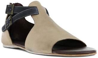 ROAN Inaya Colorblock Suede Sandal