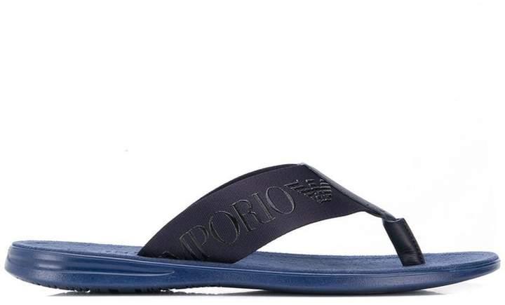 1fb6f1960f03 Mens Armani Sandals