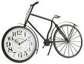 Pier 1 Imports Antiqued Black Bicycle Desk Clock