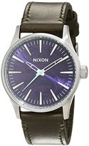 Nixon Unisex Watch Analogue Quartz Leather A377486