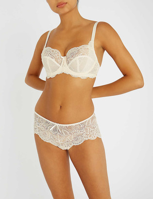 Panache Andorra stretch-lace shorty briefs