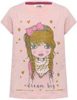 M&Co Girl print t-shirt
