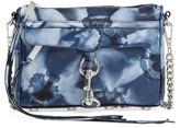 Rebecca Minkoff Mini MAC Leather Crossbody Bag - Blue