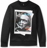 Neil Barrett - Jay De Niro Printed Scuba-jersey Sweatshirt