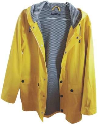 Petit Bateau Yellow Trench Coat for Women