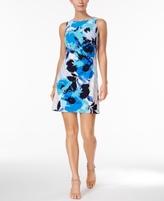 Jessica Howard Petite Floral-Print Shift Dress