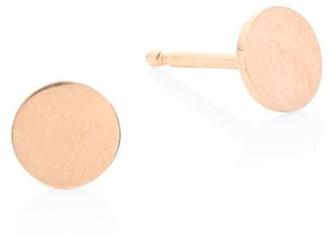 ginette_ny 18K Rose Gold Mini Stud Earrings