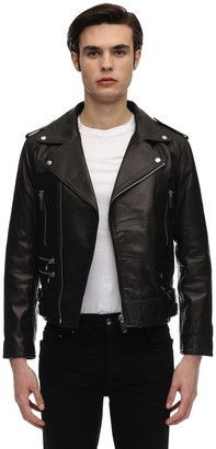 Flaneur Homme Leather Rider Jacket