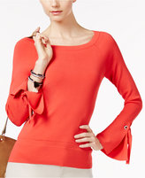 INC International Concepts Petite Bell-Sleeve Sweater, Created for Macy's