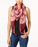 INC International Concepts Folk-Print Triangle Scarf,Created for Macy's