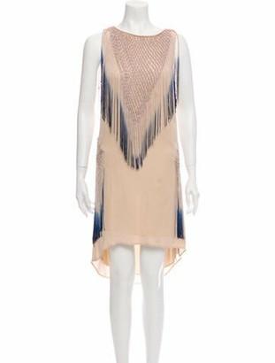 Haute Hippie Silk Mini Dress w/ Tags