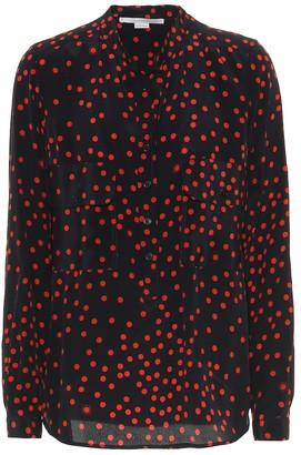 Stella McCartney Polka-dot silk shirt