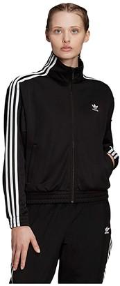 adidas Track Top (Black) Women's Clothing