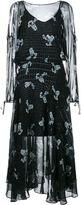 Preen by Thornton Bregazzi constellation print dress - women - Silk - XS
