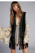 Free People Womens RINGO SUEDE VEST