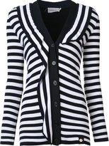 Sonia Rykiel striped cardigan - women - Cotton/Viscose - S