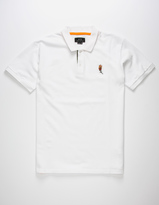 Asphalt Yacht Club Rose Mens Polo Shirt
