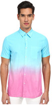 Love Moschino Ombre Short Sleeve Button-Up Shirt