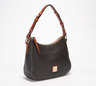 Dooney & Bourke Pebble Leather Small Kiley Hobo