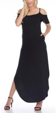 White Mark Lexi Maxi Dress