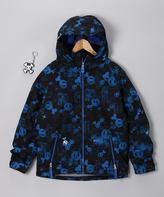 Paul Frank Royal Blue Mix Insulated Jacket - Boys